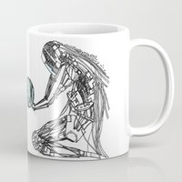 future Mugs featuring Future by iglootree