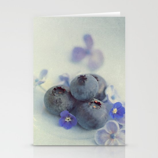 Blueberry Smile Stationery Cards
