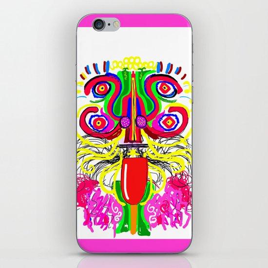 Maya lion iPhone & iPod Skin