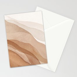 Mountains and hills Stationery Cards