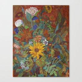 flower 2【Japanese painting】 Canvas Print