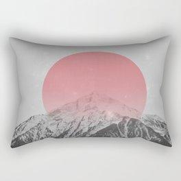Dreaming of Pink Mountains Rectangular Pillow
