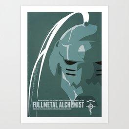 Fullmetal Alchemist Alphonse Helmet Series   Art Print