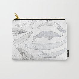 Whales of the world Carry-All Pouch