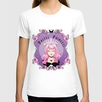 pastel goth T-shirts featuring Pastel princess by Stevie Wilson