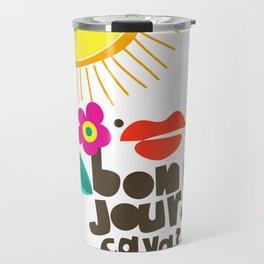 Bonjour! Travel Mug