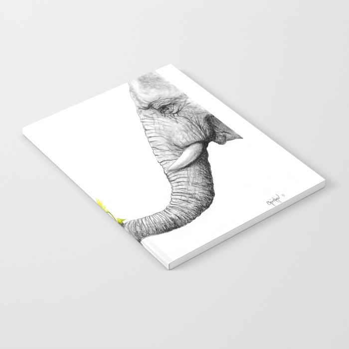 """""""Up Close You Are More Wrinkly Than I Remembered"""" Notebook"""