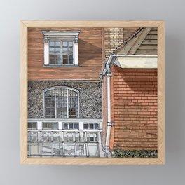 STANDEN1 Framed Mini Art Print