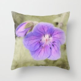 smoothing out the rough edges Throw Pillow
