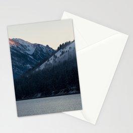 Last Light at Wallowa Lake Oregon Stationery Cards