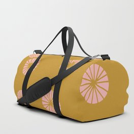 Dandelion flying mustard Duffle Bag
