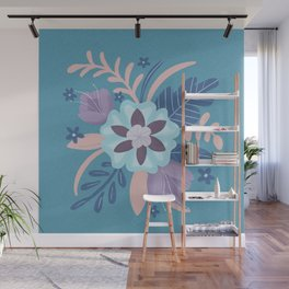 Floral Bouquet Wall Mural