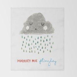 Moghrey Mie Fliaghey Throw Blanket