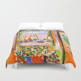 Henri Matisse Open Window Duvet Cover