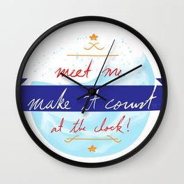 Make It Count Wall Clock