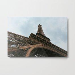 Under The Eiffel Tower Metal Print