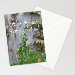 He is the giver... Stationery Cards