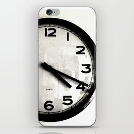 Four Nineteen Clock iPhone Skin