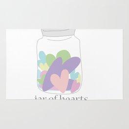 Jar of Hearts Rug
