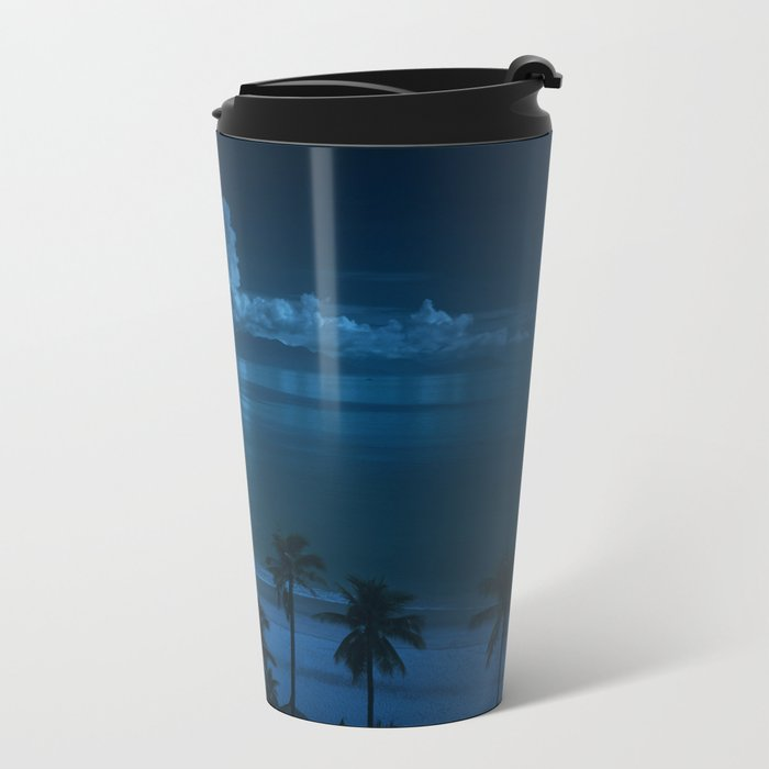 Ocean Storms Metal Travel Mug
