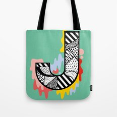 J for ... Tote Bag