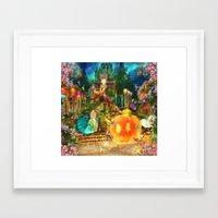 cinderella Framed Art Prints featuring Cinderella by Aimee Stewart