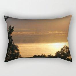 Sunrise - Tamar River - Tasmania Rectangular Pillow