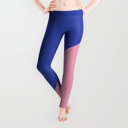 Reflex Blue & Pink - oblique Leggings
