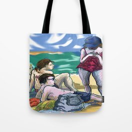 Fran and Friends Tote Bag