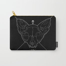 Black Lucky 13 Carry-All Pouch
