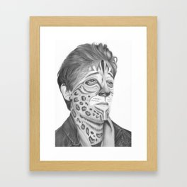 Adrien Brody Framed Art Print