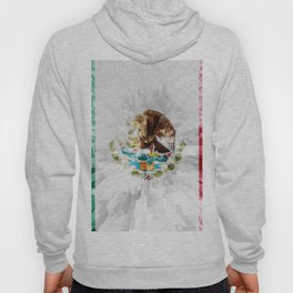 Extruded Flag of Mexico Hoody