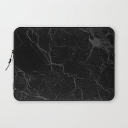 Black Russo Marble Laptop Sleeve