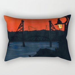 the I-5 Bridge Rectangular Pillow