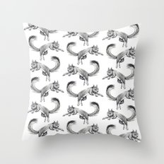 Holding Out for a Hero Throw Pillow