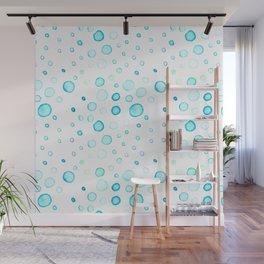 Watercolor Bubbles! Wall Mural