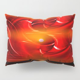 Abstract perfection - Sunst Pillow Sham