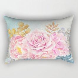 Flowers bouquet 75 Rectangular Pillow