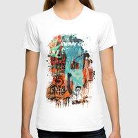 grafitti T-shirts featuring Harlem Graf 1 by shaunorourke