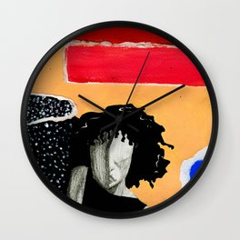 Reckless Abandon Of Woman Wall Clock