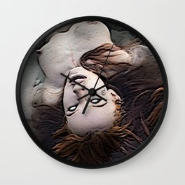Salem Witch Dead In the Water Wall Clock