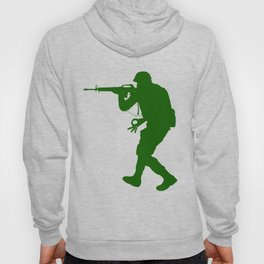 The Circle Game Army Soldier War Guns Funny Hoody