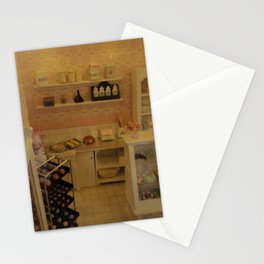 Miniature shop bakery Stationery Cards