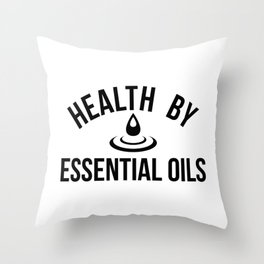 CUTE PRETTY ESSENTIAL OIL DIFFUSER productS - HEALTHY Throw Pillow