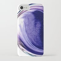 aelwen iPhone & iPod Cases featuring Aubergine by Rose Etiennette