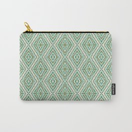 SW Pattern in Green Carry-All Pouch