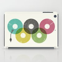 records iPad Cases featuring Olympic Records by Jorge Lopez