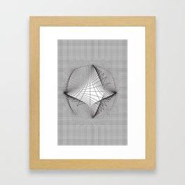 Warp (series) Framed Art Print
