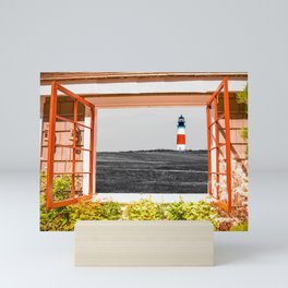 Sankaty Head Lighthouse, Nantucket Mini Art Print