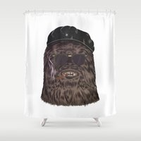che Shower Curtains featuring che bacca by Heymikel